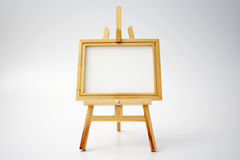 Easel and canvas Stock Photos