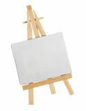 Easel and canvas Stock Image