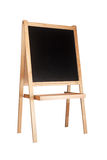 Easel with chalkboard Stock Photography