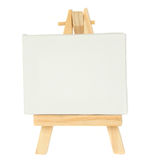 Easel with empty  canvas Stock Image