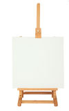 Easel with empty frame for your text or image Royalty Free Stock Images