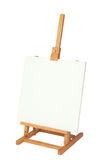 Easel with empty frame for your text or image Stock Image
