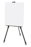 Easel or flipchart isolated on white Royalty Free Stock Photography