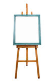 Easel and framed canvas Royalty Free Stock Photos