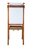 Easel isolated Stock Image