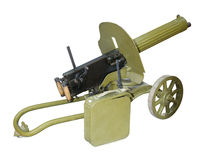 Easel machine gun, Maxim's system Stock Images