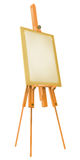Easel with paper Stock Images