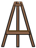 Easel stand Royalty Free Stock Image