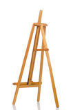 Easel on the white background Royalty Free Stock Photos