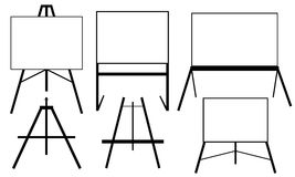 Easels Stock Image