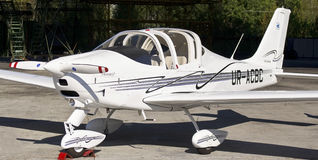 Easily motor aircraft model Stock Photos