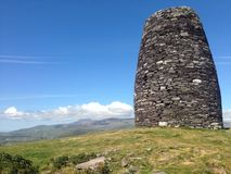 Eask Tower Above Dingle Town royalty free stock images