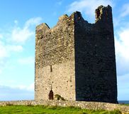 Easky Castle Co. Sligo Ireland. Easky castle with a rainbow co. sligo ireland on a beautiful sunny day Stock Photography