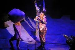 Eason Chan Poruszający Na scena koncercie w Hong Kong Fotografia Stock