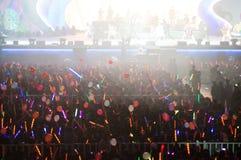 Eason Chan Shanghai live show Stock Image