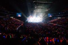 Eason Chan Shanghai live show Royalty Free Stock Image