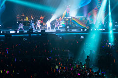 Eason Chan Shanghai live show Royalty Free Stock Photo
