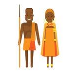 East africa national dress Stock Photos