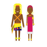 East africa national dress Royalty Free Stock Photo