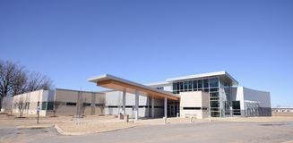 East Arkansas Health Center, West Memphis Arkansas. East Arkansas Family Health Center provides emergency, urgent and minor medical care to people in need Royalty Free Stock Photos