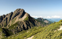 East asia highest mountain - Mt. Yushan Stock Photos