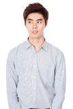 East Asian Korean young man studio portrait Stock Image