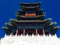 East asian traditional building. Royalty Free Stock Photos