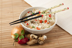 East asian vegetarian cuisine Royalty Free Stock Images