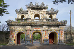 East Bastion-gates of the forbidden city. Hue, Vietnam Royalty Free Stock Photography