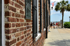 East Bay Street - Charleston SC Stock Photo