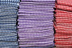 East bazaar Scarfs Royalty Free Stock Photo