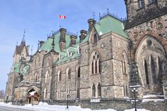 East Block Parliament Building Royalty Free Stock Photos