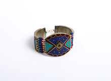 East bracelet with a pattern. Eastern bracelet with a pattern Royalty Free Stock Image