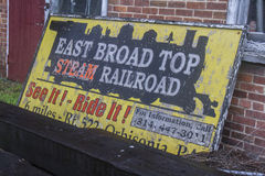 East Broad Top Railroad Stock Image