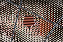 The East Building, tile arrangement Royalty Free Stock Image