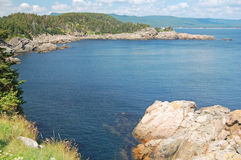 East canadian coastline Royalty Free Stock Image
