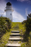 East Cape Lighthouse. Steps leading up to the East Cape Lighthouse, New Zealand Stock Photography
