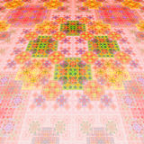East carpet. Pattern on fabric. Tapestry. Stock Photography