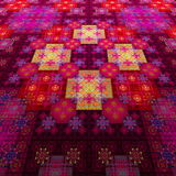 East carpet. Pattern on fabric. Tapestry. Royalty Free Stock Images
