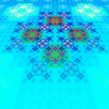 East carpet. Pattern on fabric. Tapestry. Stock Image
