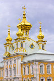 East Chapel housing the Grand Palace Peterhof. Royalty Free Stock Photos