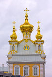 East Chapel housing the Grand Palace Peterhof. stock photo
