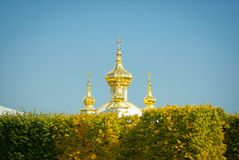 The East Chapel of The Peterhof Royalty Free Stock Image