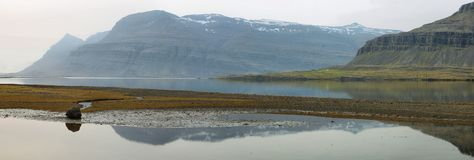 East coast of Iceland Stock Images