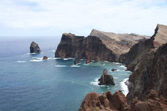 East coast of Madeira Royalty Free Stock Images