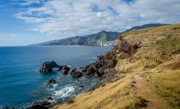 East coast of Madeira island Stock Photography