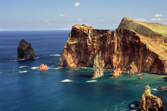 East  coast of Madeira island - Ponta de Sao Loure Royalty Free Stock Photo