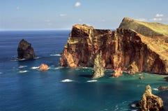 East coast of Madeira island - Ponta de Sao Loure royalty free stock photo