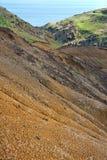 East coast of Madeira island - Ponta de Sao Loure royalty free stock images