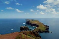 East coast of Madeira island, Ponta de Sao Loure stock photography
